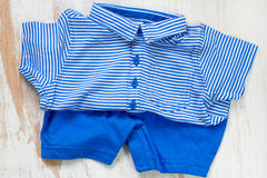 summer baby clothes Royalty Free Stock Photo