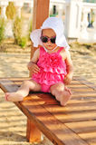 Summer baby Royalty Free Stock Images