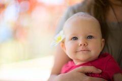 Summer Baby Girl Stock Photography