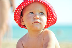Summer baby Stock Photography
