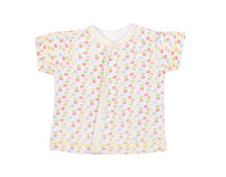Summer baby's undershirt for the newborn Stock Photography