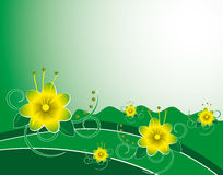 Summer background Stock Photography