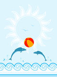 Summer background Royalty Free Stock Photo
