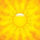 Summer background. Beutiful Summer background.Sun vector Stock Photos