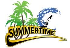 Summer background Stock Image