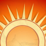Summer background. Vector illustration. Eps 10 Royalty Free Stock Image