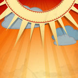 Summer background. Vector illustration. Eps 10 Royalty Free Stock Photography