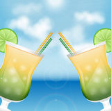 Summer background Stock Photos