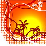 Summer background. Stock Image