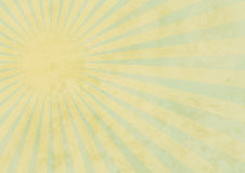 Summer Background on Aged Paper. Summer Background - Sun Beams on Aged Paper stock illustration