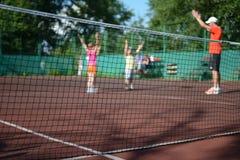 Summer Background - Blurred Active Kid Stock Photo
