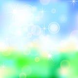 Summer background 01. Bright summer background, illustration clip-art Stock Photo