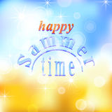 Summer background 02 Royalty Free Stock Images
