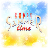 Summer background 01c Royalty Free Stock Photos