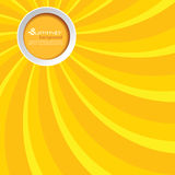Summer background with a circle Stock Image