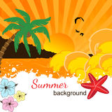Summer background design Stock Photo