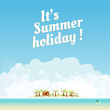 Summer background design Royalty Free Stock Photo