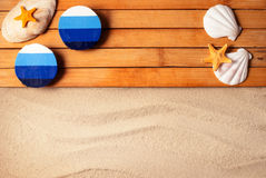 Summer background. Royalty Free Stock Photos