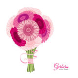 Summer background with Gerbera. Royalty Free Stock Photography