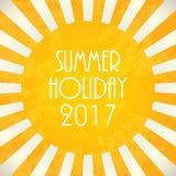 Summer background. 2017,  illustration, EPS10 Stock Photo
