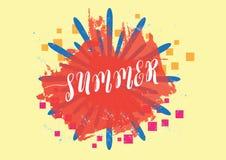Summer background,  illustration eps.10 Royalty Free Stock Photography