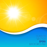 Summer background with place for your content Royalty Free Stock Image