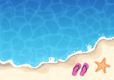 Summer Background - Sea and Sun Stock Photography