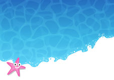 Summer Background - Sea and Sun Royalty Free Stock Images