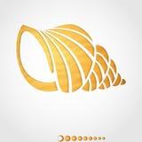Summer Background. Seashell. Summer Background Seashell. Vector illustration. Eps 10 stock illustration