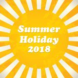Summer background - 2018 Stock Photography
