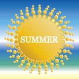 Summer Background . Royalty Free Stock Image