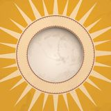 Summer Background. Summer Background With Sun. Vector Illustration. Eps 10 Royalty Free Stock Image