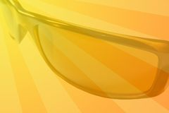 Summer background. Sunglasses Royalty Free Stock Photo
