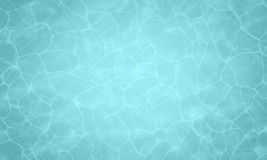 Summer background. Texture of water surface. Pool water. Overhead view. Vector illustration nature background. Summer background. Texture of water surface. Pool Stock Photography