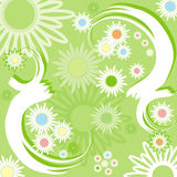 Summer background, vector Royalty Free Stock Images