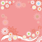 Summer background, vector Royalty Free Stock Photos