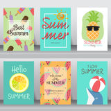 Summer background. vector Royalty Free Stock Images