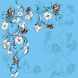 Summer background. Vector illustration  Royalty Free Stock Photos