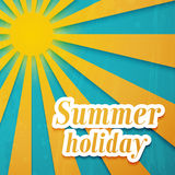 Summer background. Royalty Free Stock Photo