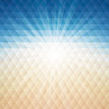 Summer Background. Vector illustration with geometric pattern Stock Photos