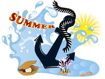 Summer background Stock Images