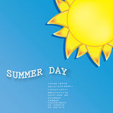 Summer Background . Royalty Free Stock Photos