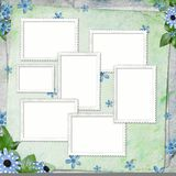 Summer Background With Frame And Flowers Stock Photo