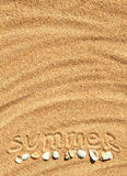Summer background Royalty Free Stock Image