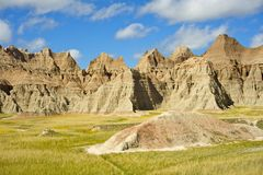 Summer in the Badlands. Royalty Free Stock Image