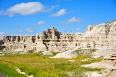 Summer in the Badlands Stock Photos