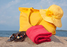 Summer bag Royalty Free Stock Images