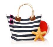 Summer bag Stock Photography