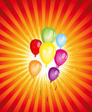 Summer Balloons Party ! Stock Images