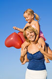 Summer baloon fun Royalty Free Stock Photo